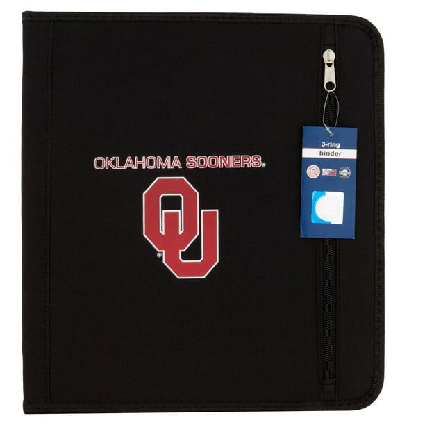 Oklahoma Sooners 3-Ring Binder