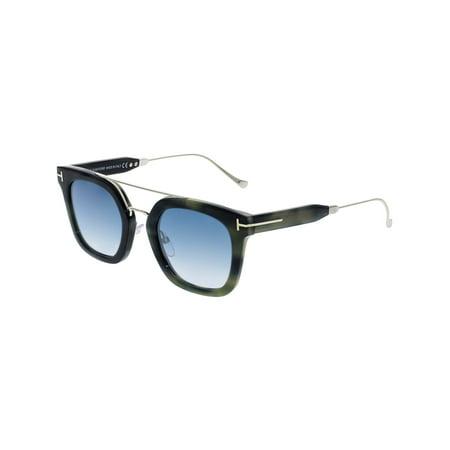 Tom Ford Gradient Alex-02 FT0541-56X-51 Blue Rectangle (Blue Gradient)
