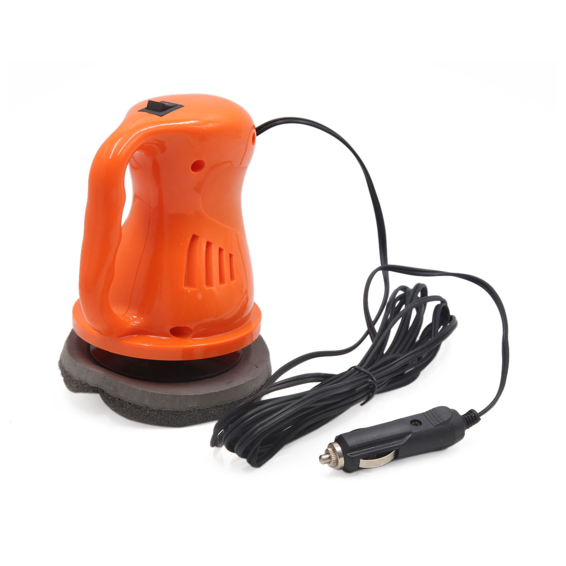 "4.7/"" Electric Car Truck Polisher Waxer Buffer Sander Home Machine Orange"