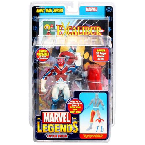 Marvel Giant Man Build A Figure Captain Britain Action Figure