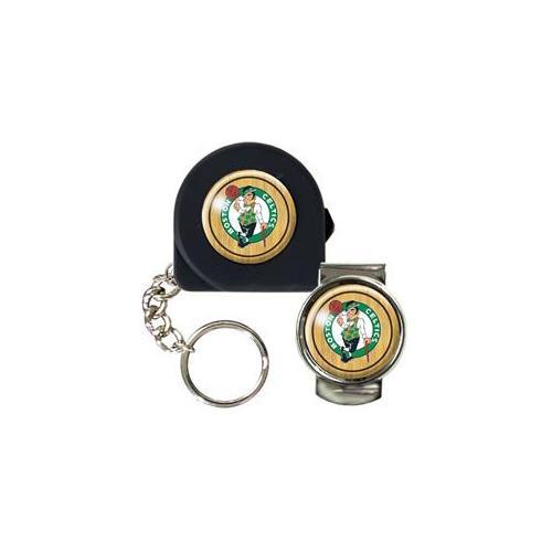Great American Products Ktpmmc2202 6 Ft.  Tape Measure Key Chain & Money Clip Set- Nba Celtics