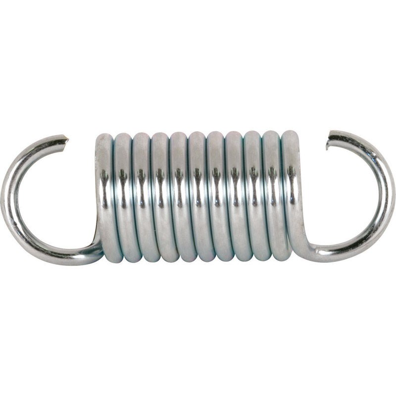 "Prime-Line Extension Spring 0.105 "" X 3/4 "" X 2-1/4 "" Steel Polybag Of 2"