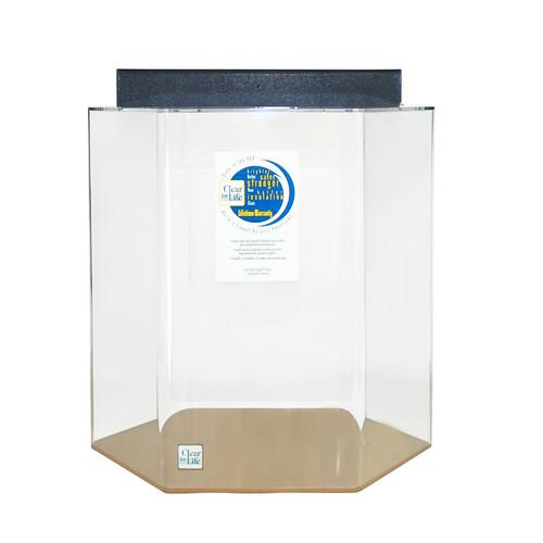 Advance Aqua Clear For Life Hexagon Acrylic Aquarium Tank
