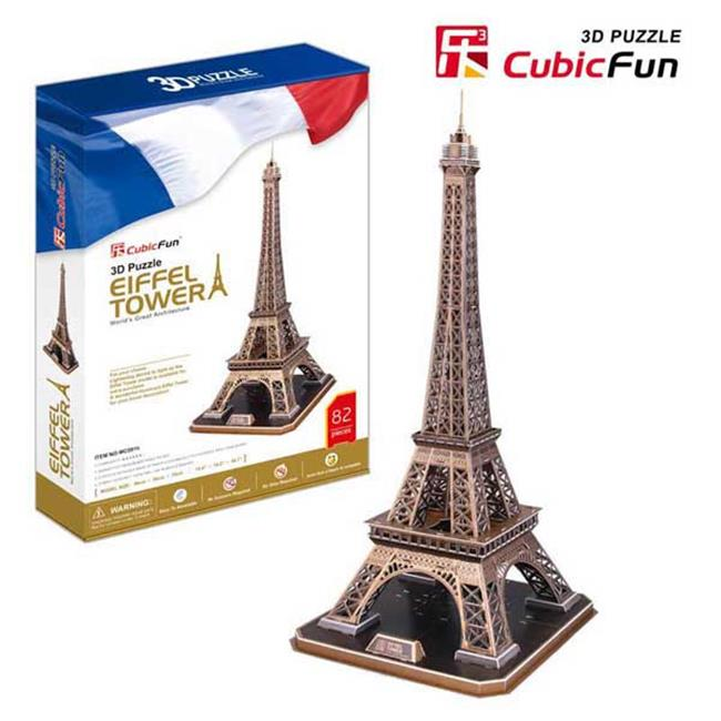 Primo Tech MC091H 3D Puzzle - Eiffel Tower
