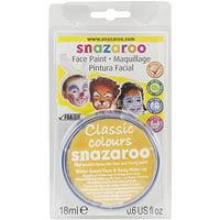 Snazaroo Face Paint 18Ml-Bright Yellow