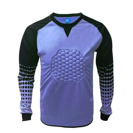 Soccer Goalkeeper Goalie Shirt Youth (Large, Purple) 1 Stop Soccer