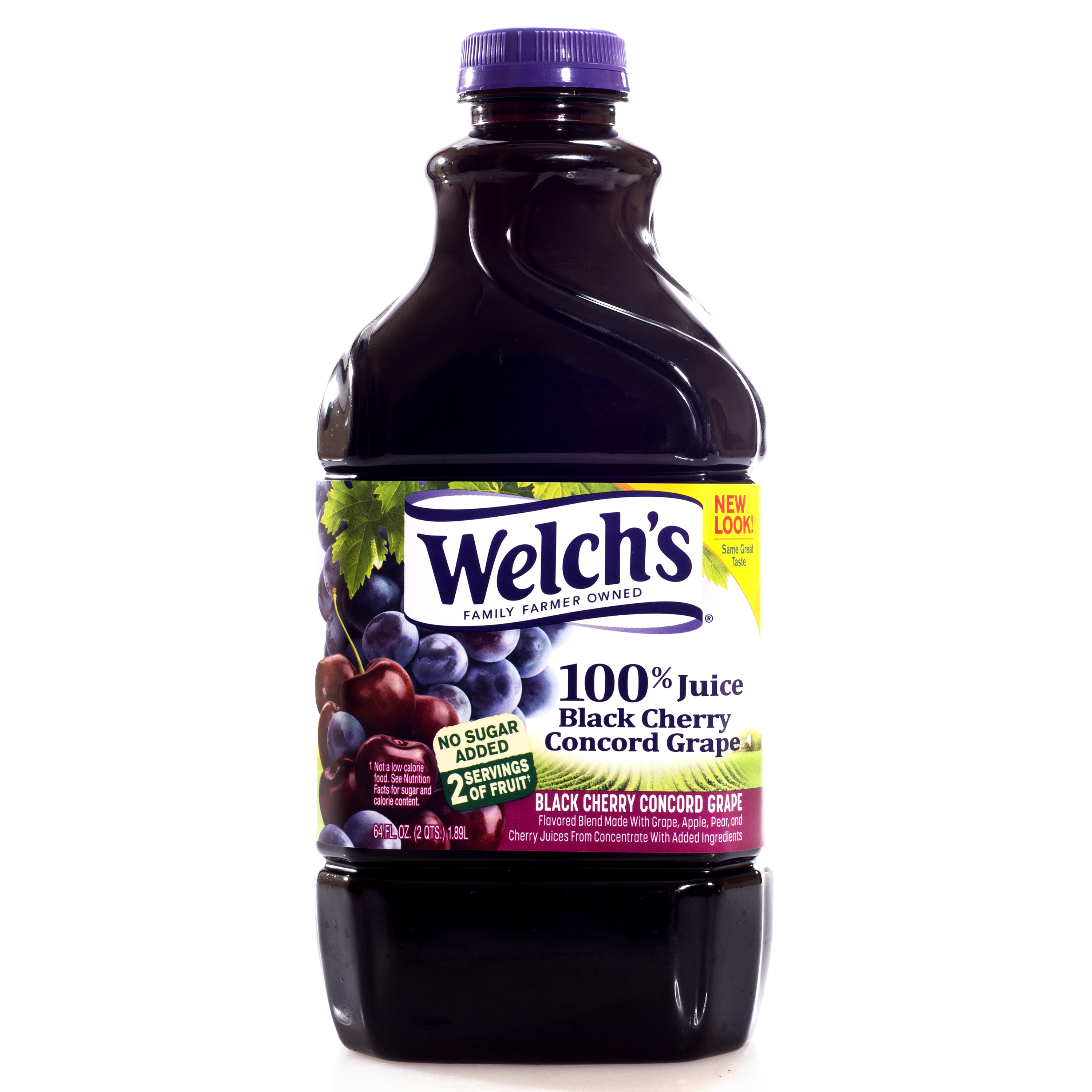 Welch's 100% Black Cherry Concord Grape Juice