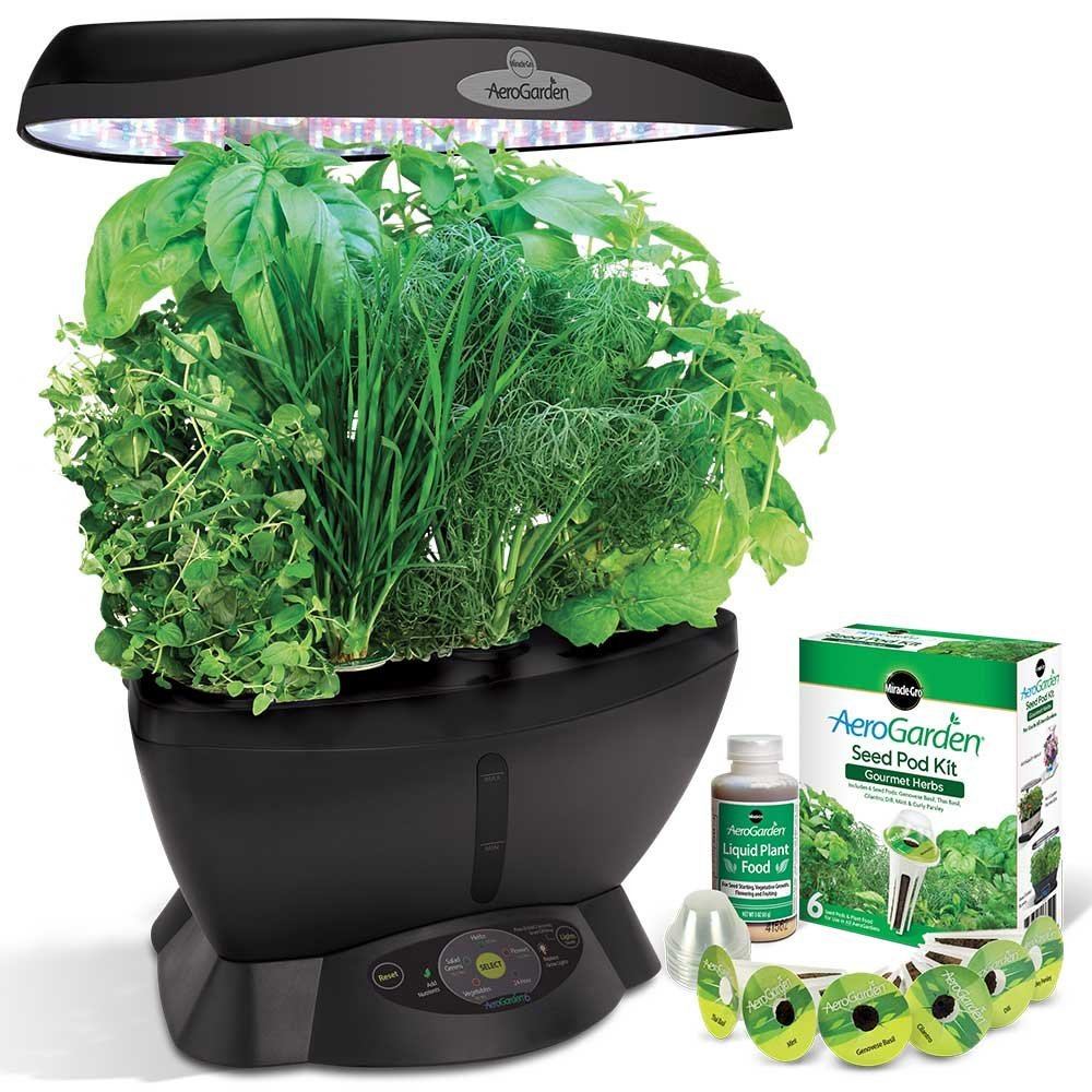 Miracle Gro AeroGarden Classic 6 with Gourmet Herb Seed P...