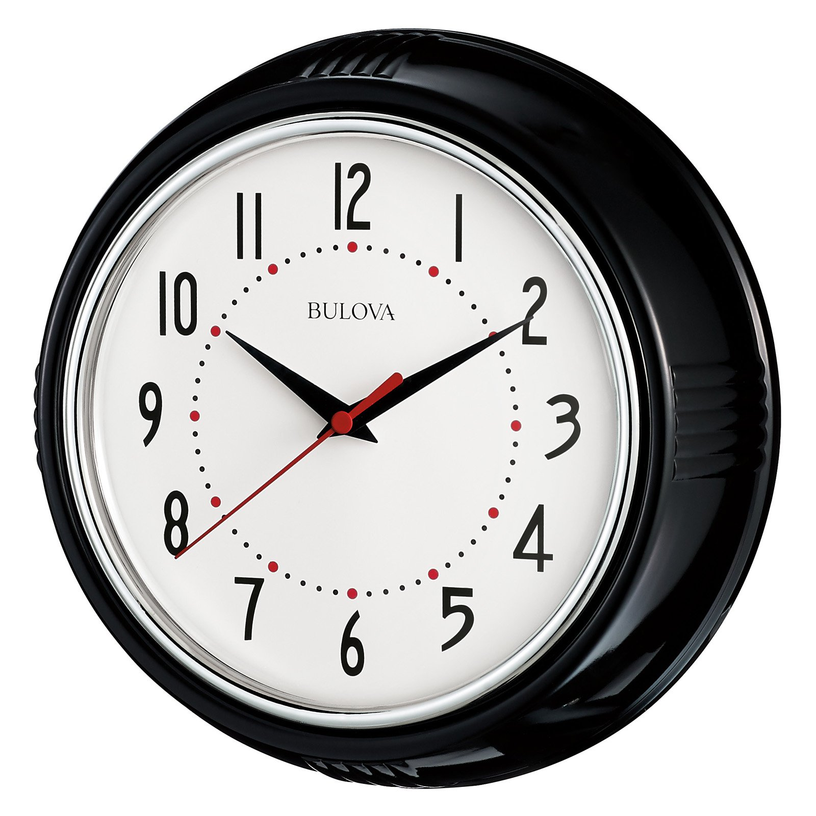 Groovy Bulova 9 75 Diam Kitchen Plus Wall Clock Home Interior And Landscaping Synyenasavecom