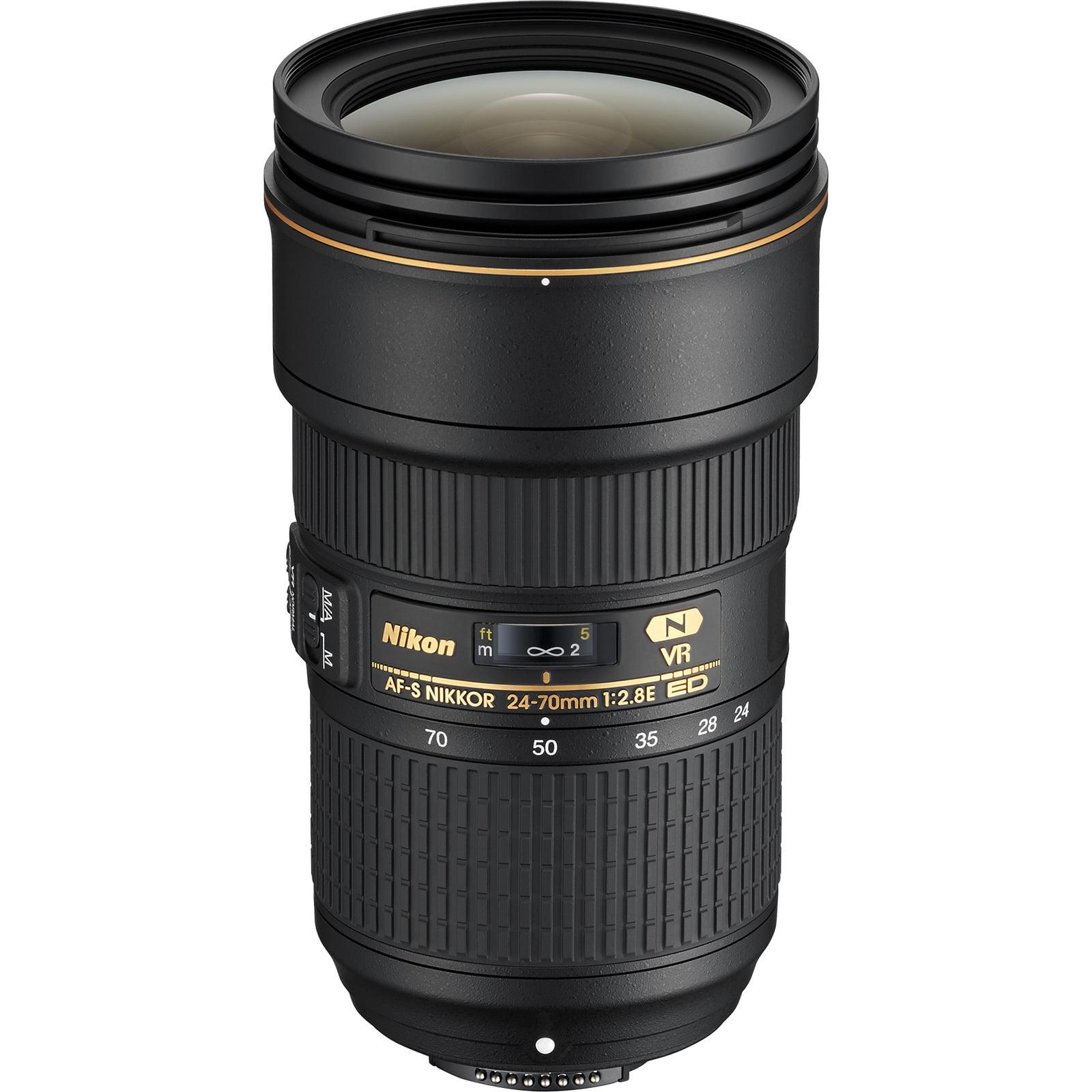 Nikon 24-70mm f/2.8E VR AF-S ED Nikkor Zoom Lens