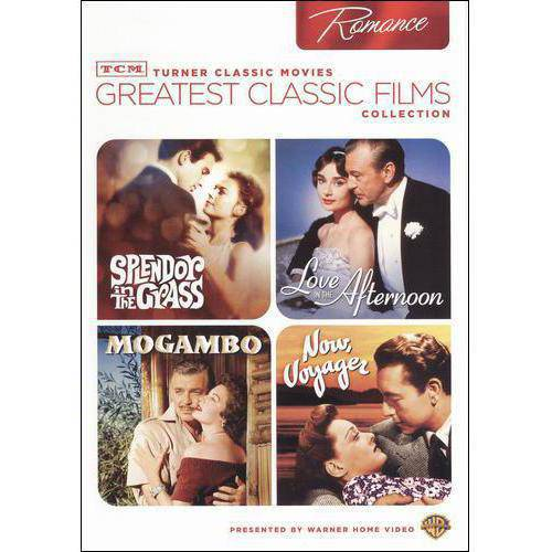 TCM Greatest Classic Films Collection: Romance - Splendor In The Grass / Love In The Afternoon / Mogambo / Now, Voyager