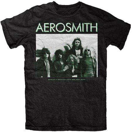 Aerosmith America's Greatest Rock n Roll Band Adult T-Shirt