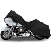 North East Harbor Motorcycle Bike Cover Travel Dust Storage Cover For Harley Davidson Softail FXST Custom