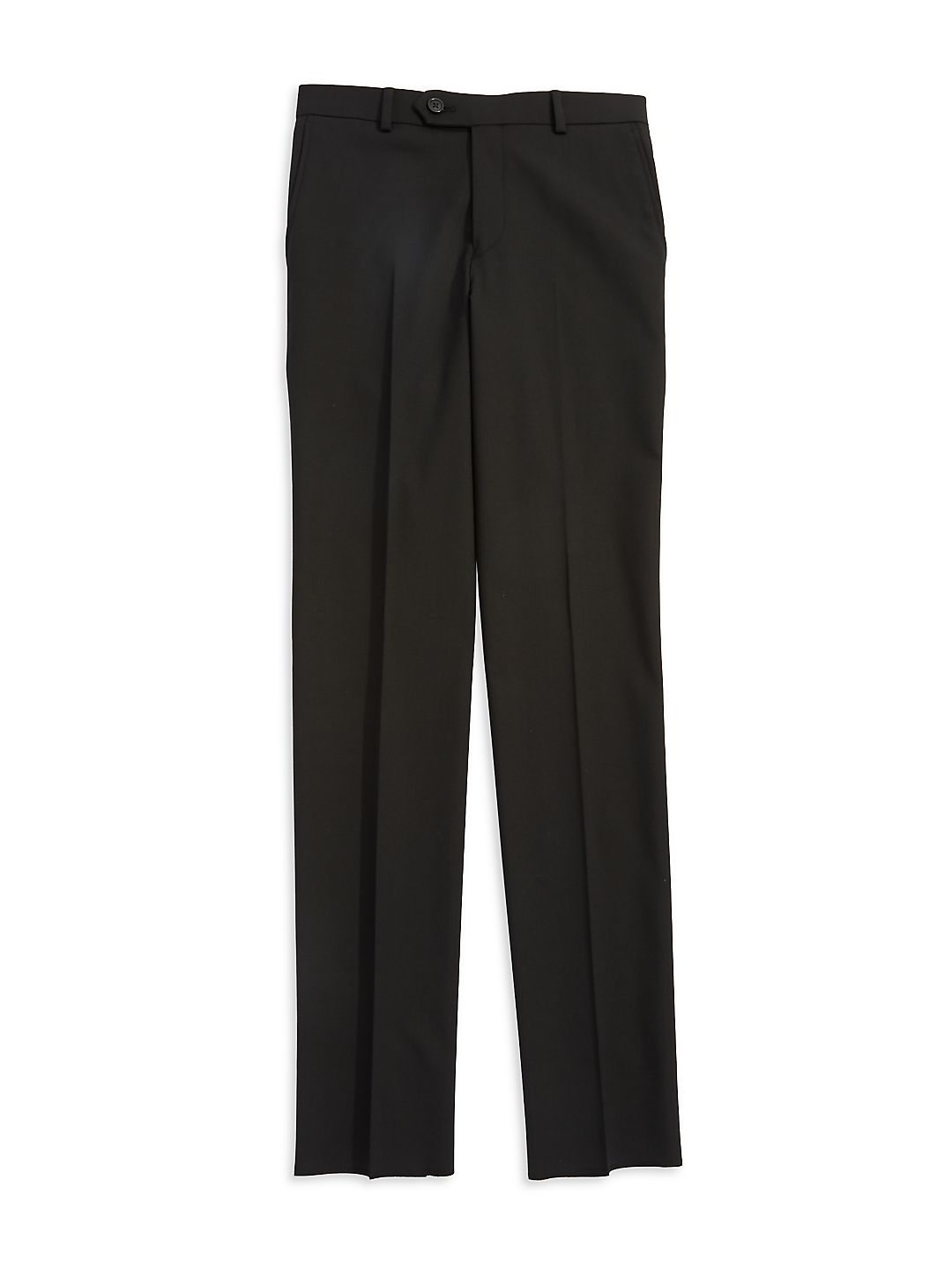 Unhemmed Dress Pants