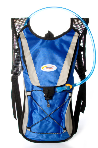 Multi Function Hydration Backpack Blue by Supplier Generic