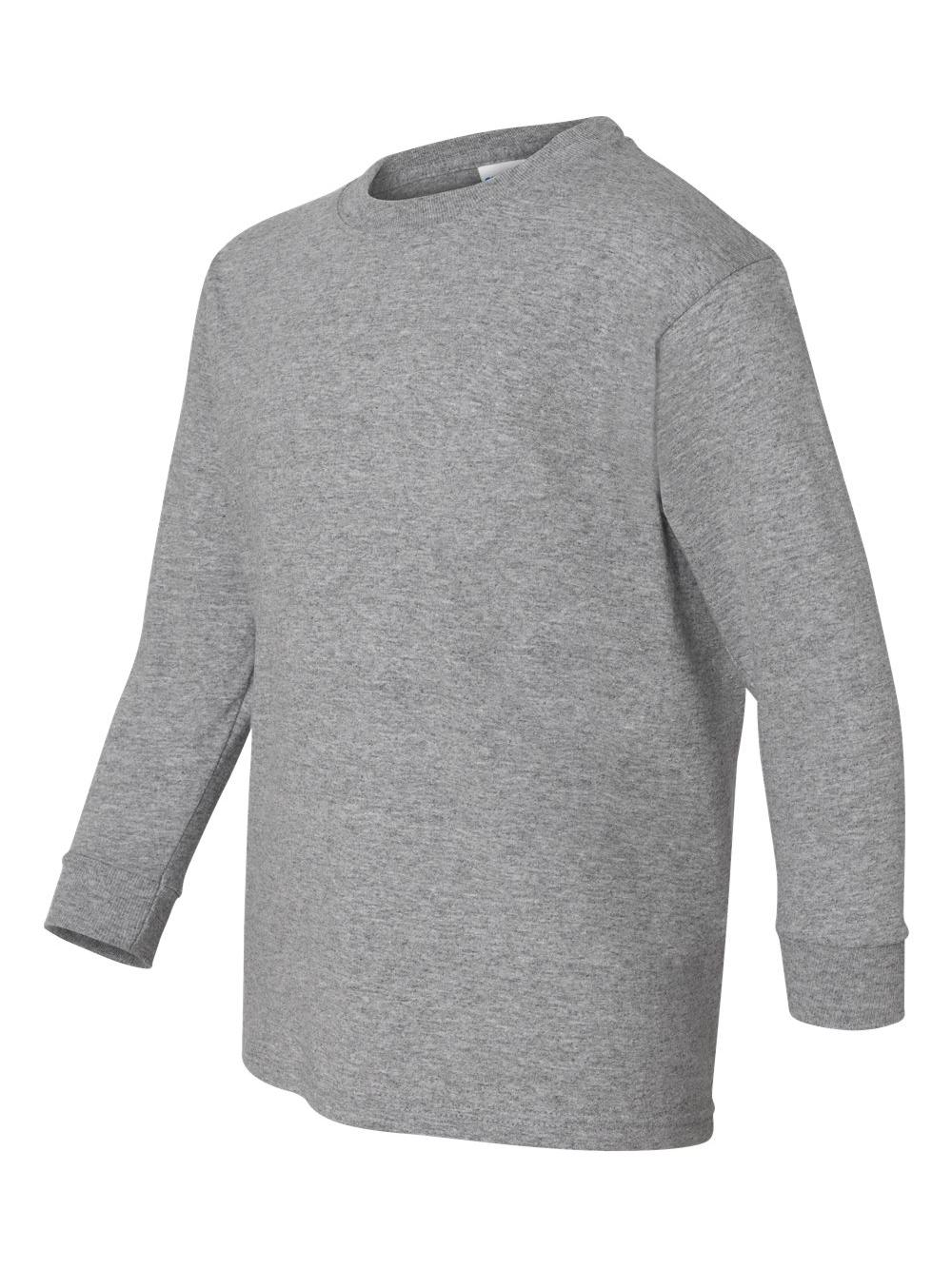 Gildan Heavy Cotton Youth Long Sleeve T-Shirt 5400B