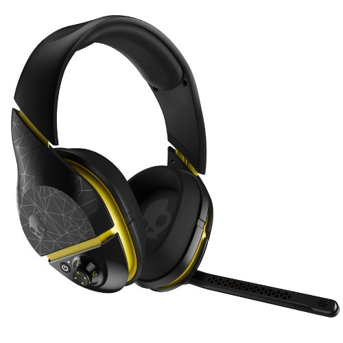 SkullCandy PLYR2 WIRELESS BLACK/YELLOW Audio/Video Equipment - Headphone
