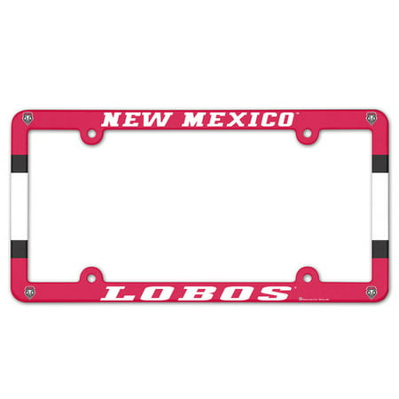 American Logo Products New Mexico Lobos License Plate Frame