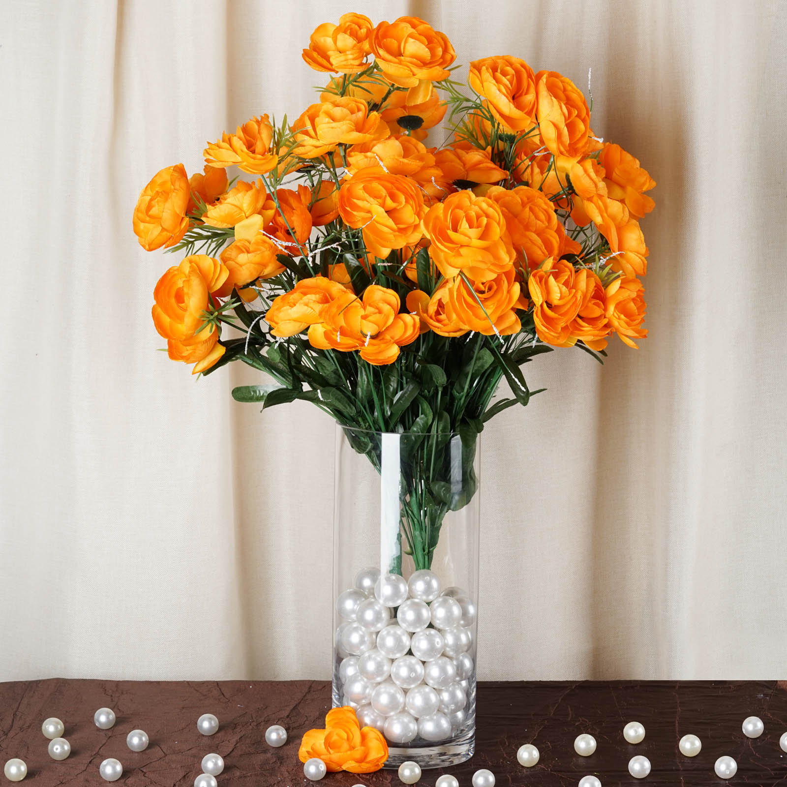 BalsaCircle 72 Silk Ranunculus Artificial Silk Flowers - DIY Home Wedding Party Bouquets Arrangements Centerpieces