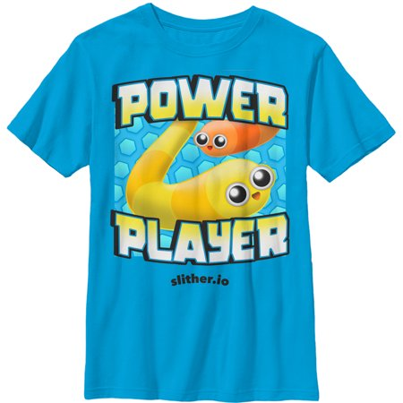 Slither Io Boys Power Player T Shirt