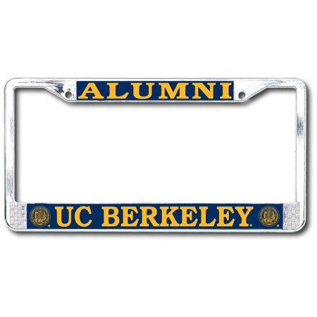 UC Berkeley Alumni Chrome License Plate Frame Alumni Chrome Frame