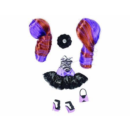 Pinkie Cooper Party Black Dress Collection Fashion Set  These Party Fashions Include Matching Shoes And Accessories  As Well As Fab Two Toned Hairstyles And A    By The Bridge Direct Ship From Us