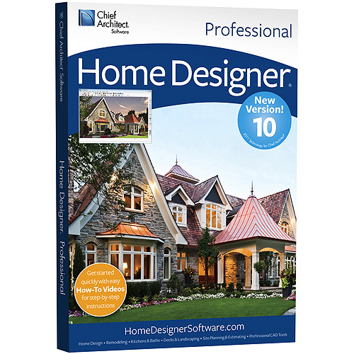 Chief Architect Home Designer Professional   (v. 10)   Box Pack   1