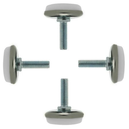M6 x 20 x 30 Leveling Feet Protector Floor Adjustable Leveler for Desk Leg 4pcs - Halloween 100 Floors Level 30