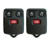 S&I Remotes Replacement Keyless Entry Remote Car Key Fob CWTWB1U331 Set of 2 Fobs