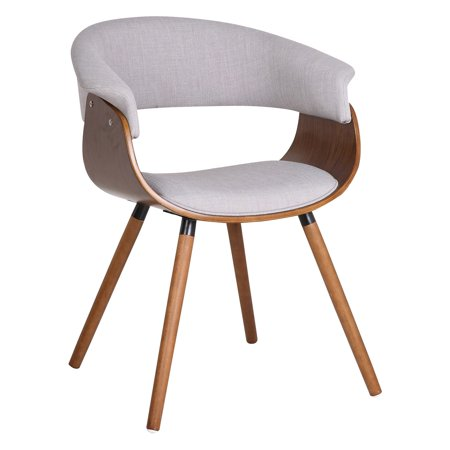 Nspire Mid Century Side Chair With Wood Legs