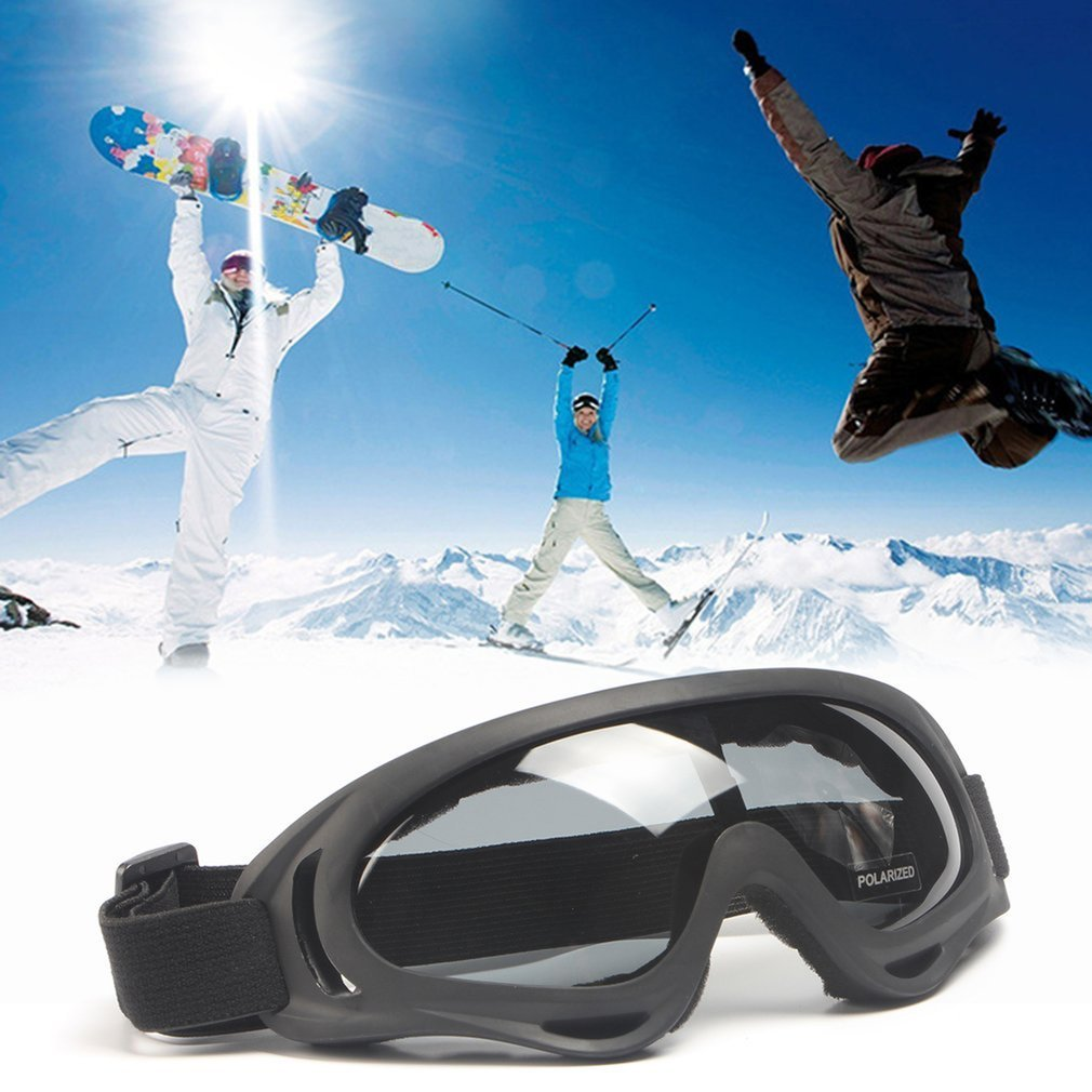 Professional Windproof Goggles X400 UV Protection Polarized Sports Glasses Snowboard Skate Skiing Goggles For Men Women by