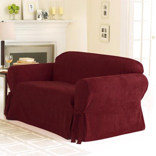 Sure Fit Soft Suede Sofa Slipcover Walmartcom