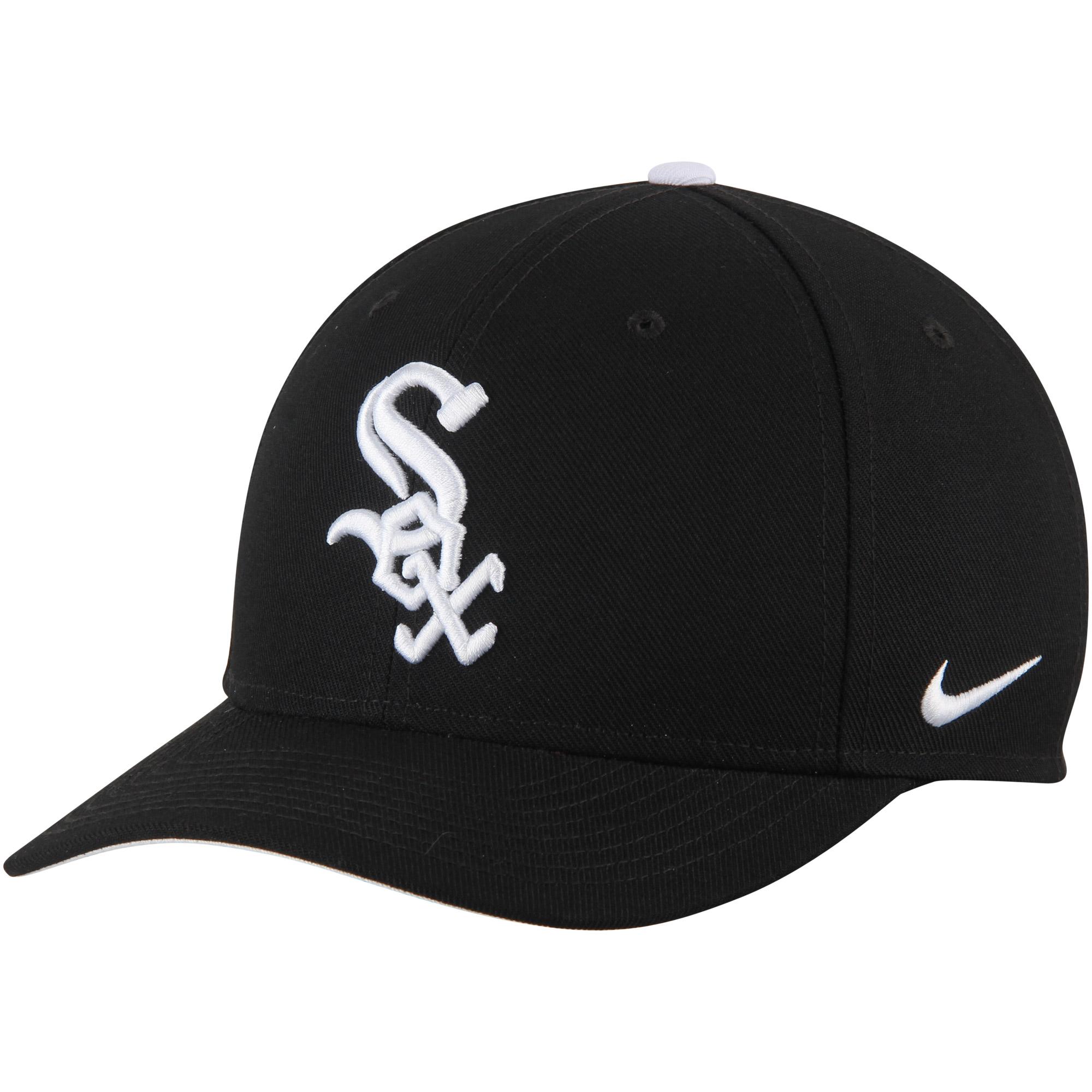 Chicago White Sox Nike Classic Adjustable Performance Hat - Black - OSFA