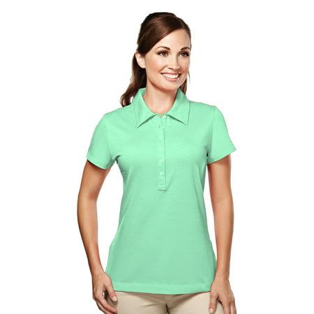 Tri-Mountain Attraction 181 Cotton Polo Shirt, 2X-Large, Aqua