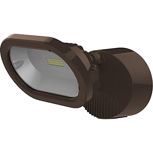 NUVO Lighting 14W LED Single Head Security Bronze Light Fixture