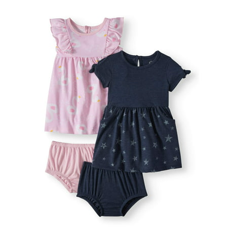 Knit Dresses, 2-pack (Baby Girls)](Glamorous Dresses For Girls)