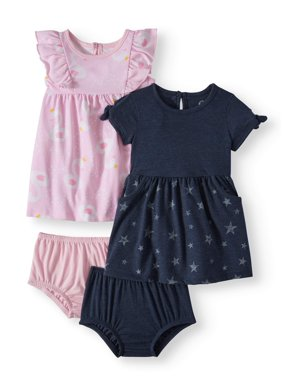 9a8ce347b Product Image Knit Dresses, 2-pack (Baby Girls)