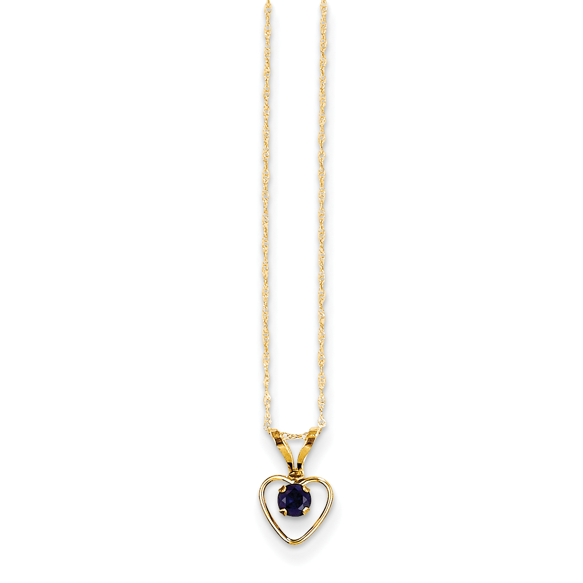 14K Yellow Gold Special Sister Pendant Jewels Obsession Special Sister Charm Pendant 19 mm