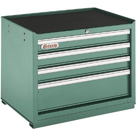 - Grizzly Industrial H5651 4 Drawer Full Depth Tool Chest