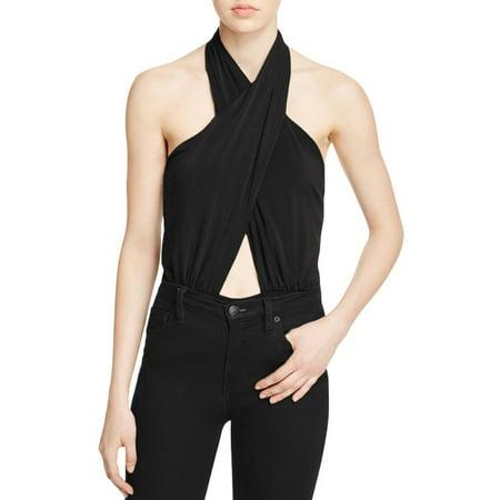 Bardot - Bardot Womens Criss-Cross Front Cut-Out Bodysuit - Walmart.com 94060572d