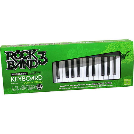 Rock Band 3 Wireless Keyboard for Xbox 360 (Xbox 360 Modded Control)