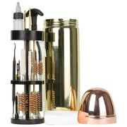 Deluxe Gun Cleaning Kit w/Aluminum Bullet-Shaped Storage Case