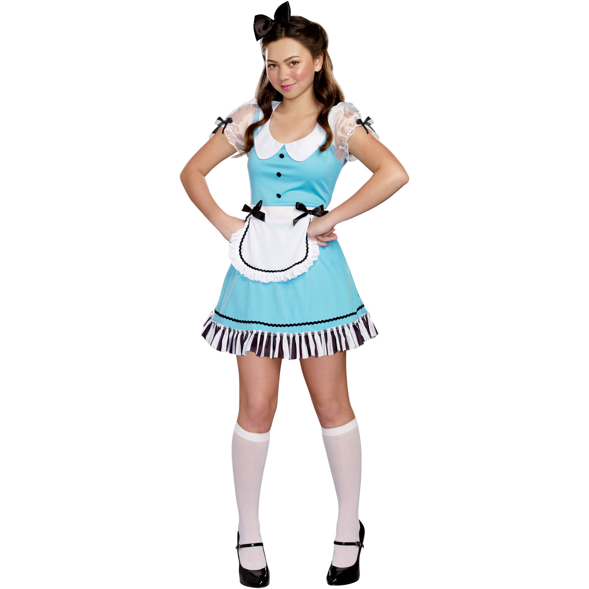 Miss Alice Teen Girls' Halloween Costume, Medium