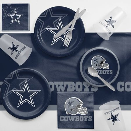 Dallas Cowboys Game Day Party Supplies Kit