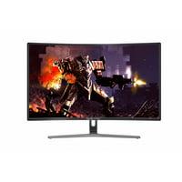 "Sceptre C275B-144R 27"" Curved Gaming Monitor 1920x1080 144Hz Refresh Rate DisplayPort HDMI DVI Ports, Metal Black"