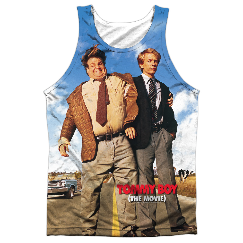 Tommy Boy Poster Mens Sublimation Tank Top Shirt