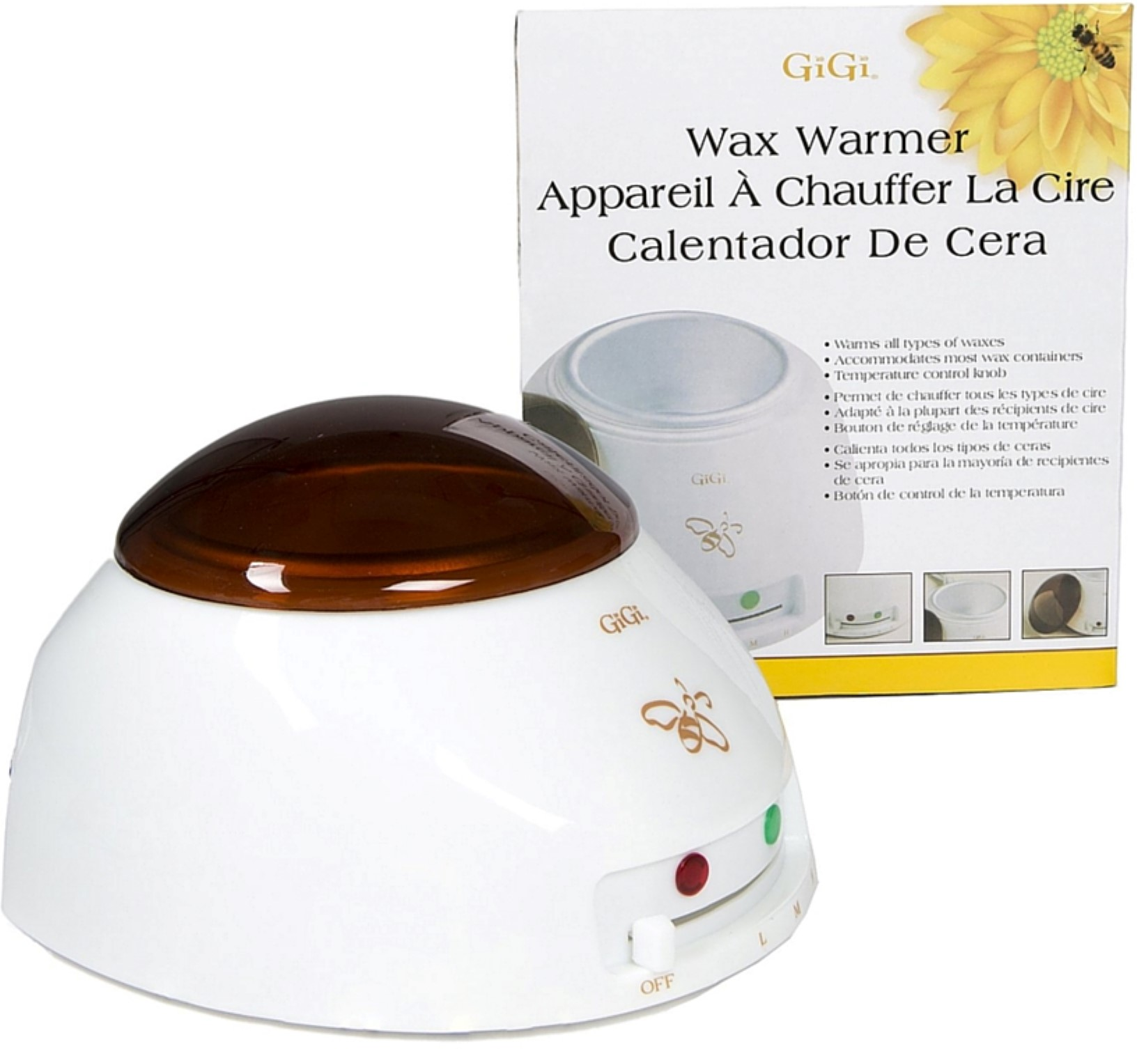 GiGi Professional Multi-Purpose Wax Warmer w/ See-Through Cover