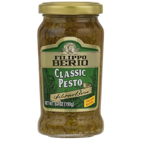 Very Pesto (Filippo Berio Pesto, Classic Basil, 6.7 FL oz)