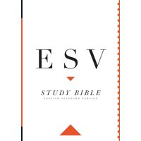 Study Bible-ESV-Large Print (Hardcover)(Large Print)