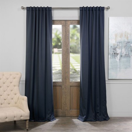 Exclusive Fabrics Furnishing Blackout Curtain Panel Set Of 2 50 In W